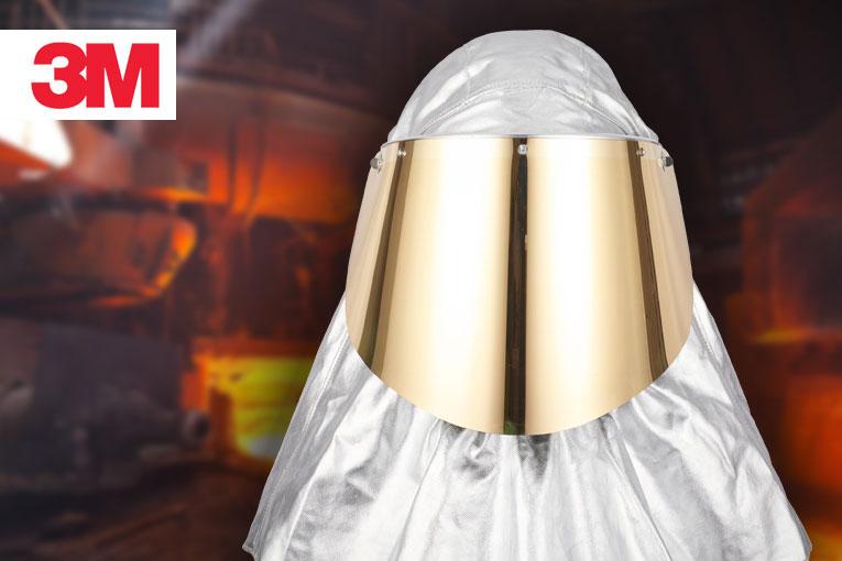 Hitzeschutz für 3M Versaflo-Helmkopfteile